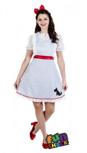 Dorothy Wizard of Oz Plus size Costume (4501)
